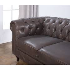 Chesterfield Leather Sofa Used by Chesterfield Leather Sofa Singapore Centerfieldbar Com