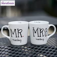 unique wedding present unique wedding present mr and mrs customized coffee mugs wedding