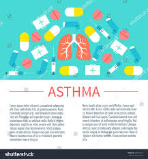 Interdum Magna Augue Eget by Asthma Infographic Design Template Place Text Stock Vector