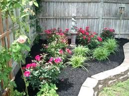 Garden Corner Ideas Corner Fence Landscaping Ideas Corner Fence Garden Ideas Soware Club
