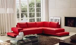 Red Leather Sofa Sets Red Sofas Tehranmix Decoration
