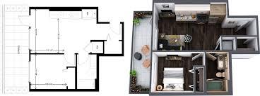 luxury apartment floor plans one lakefront seattle slu