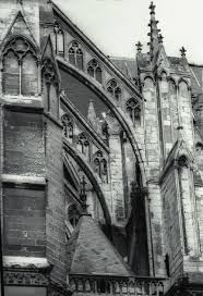 flying buttress amiens cathedral flying buttresses south side
