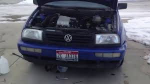 diy how to change thermostat on a mk3 vw 2 0 youtube