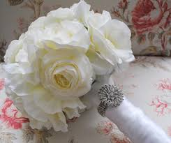 silk bridal bouquets dreamy bouquets and boutonnieres with kate said yes imbue you i do