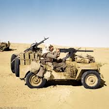 desert military jeep spectacular colourised photos show sas and sbs on campaign daily