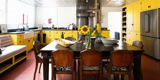 oak kitchen cabinets yellow walls 21 yellow kitchen ideas decorating tips for yellow colored