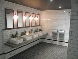 commercial bathroom ideas creative subway tile applications bathroom installation subway