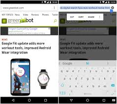 copy and paste android how to cut copy and paste the url in chrome for android