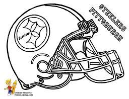 nfl team coloring pages football helmet coloring pages pittsburg steelers things to wear