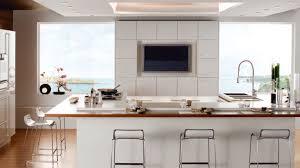 grey glass backsplash modern double spray kitchen faucets long