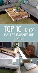 Diy Pallet Bench Instructions Top 10 Diy Pallet Furniture Ideas