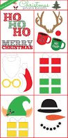 winter holiday free photo booth props winter holidays photo