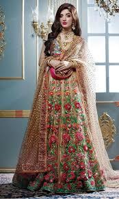 latest pakistani bridal dresses designs for wedding 2017 2018