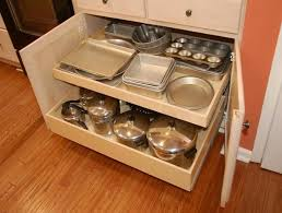 Roll Out Shelves For Kitchen Cabinets by Pull Out Cabinet Organizers Kitchen Home Design Ideas
