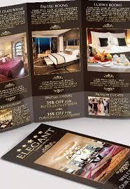 hotel brochure design templates hotel tri fold brochure psd template by elegantflyer