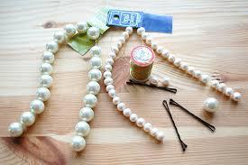 pearl hair pins diy chanel 2012 summer mermaid pearl bobby pins lollipuff