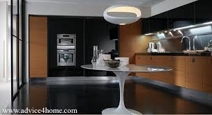 Black And Brown Kitchen Cabinets Brown Kitchen Cabinets Decor Quicua
