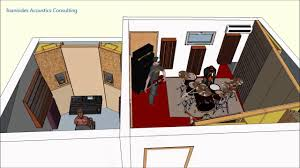 recording studio design by ioannides acoustics youtube