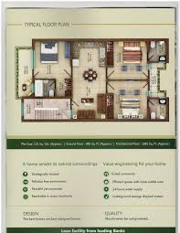 garden homes zirakpur 9988010405 3 bhk floors for sale in garden
