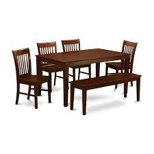 charlton home smyrna 6 piece dining set u0026 reviews wayfair