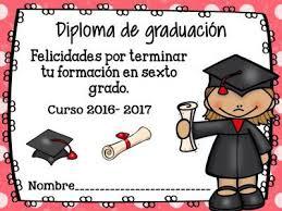 diplomas de primaria descargar diplomas de primaria diplomas de graduación y fin de curso 2017 en formato editable y
