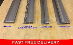 Laminate Flooring Trims Edging Best Metal Carpet Edging Deals Compare Prices On Dealsan Co Uk