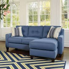Sleeper Sofa Chaise Aldie Nuvella Blue Sofa Chaise Benchcraft Furniture Cart