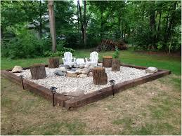backyards trendy fire pit backyard area ideas circular stamped