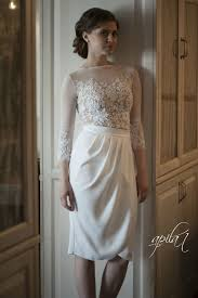 short wedding dress white and wedding dress crepe and lace