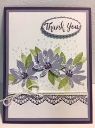 my creative corner avant garden thank you card delicate