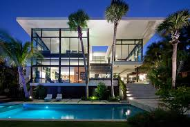 Glass Front House Glass Front Residence On The Water In Coral Gables Design Milk