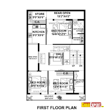 House Planing House Plan For 30 Feet By 50 Feet Plot Plot Size 167 Square Yards