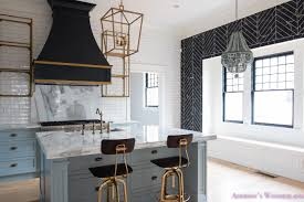 black modern kitchens a classic vintage modern kitchen blue gray cabinets inset shaker