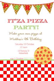 free pizza party invitation templates cloudinvitation com