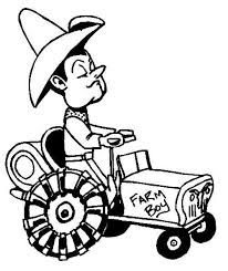 farm coloring pages fun kids