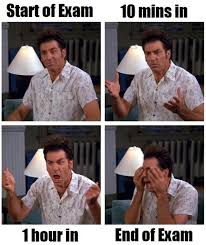 Kramer Meme - final exam week meme style
