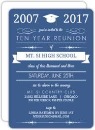 high school reunion invitations high school college class reunion invitations