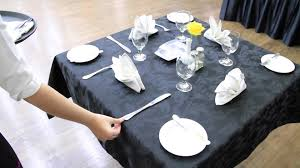 Set The Table by Table Set Up F U0026b Service Youtube