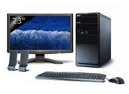 ordinateur acer de bureau pc fixe acer mcm