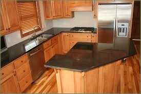 kitchen cabinets maple wood u shaped brown polished mahogany wood kitchen cabinet using white