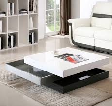 Glass Modern Coffee Table Sets J M Furniture Modern Coffee Table Cw01 In White High Gloss Grey