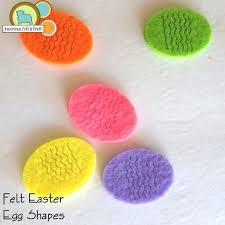 felt easter eggs felt easter egg shapes american felt craft