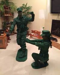 Army Men Halloween Costume 9 Couples U0027 Costumes Kind Cringe Costumes Army