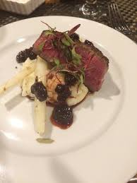 4th course black angle filet mignon Picture of Lido at Dolphin Bay