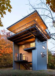 slanted roof modern cabin amusing modern cabin design home