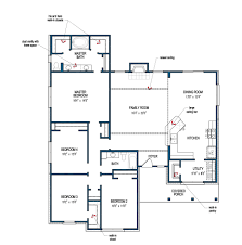 His And Her Bathroom Floor Plans by Carlton Iv Tilson Homes