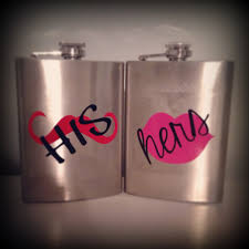 his and hers flasks his hers flask set 22 simplystacysstyle his hers