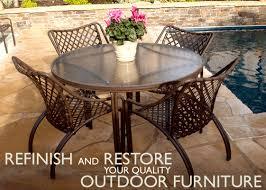 premier patio and deck furniture restoration and refurbishers