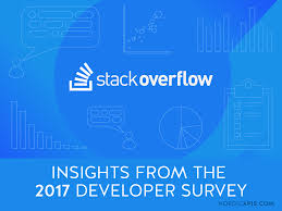 insights from the stack overflow 2017 developer survey nordic apis